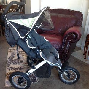 Maclaren Mac 3 jogger stroller
